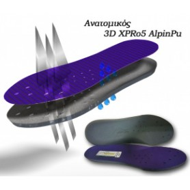 Πάτοι παπουτσιών Alpin 3D...