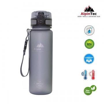 Παγούρι Alpintec 500ml -grey